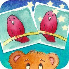 Lernen mit Bär und Zwiebel: Paare suchen Eine App für Kinder zwischen 4 - 6 Jahren