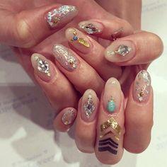 My new nails! All ready for the summer baby! #NewNails #SummerReady #JillAndLovers #MayukoKawakita #河北麻友子