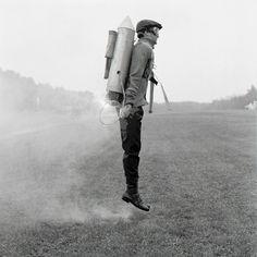 Rodney Smith, 'Rocketman, Rhinebeck, NY'