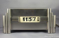Art Deco Streamline Clock by: Kem Weber. @designerwallace