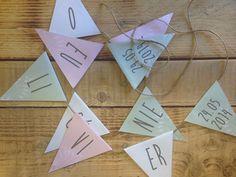 Banderole papier et chanvre I Design by Crème de Papier