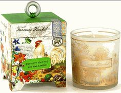Farmers Market Soy Wax Candle by Michel Design Works | BettesGifts.com | $17.99
