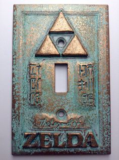 Legend of Zelda Light Switch Cover