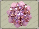Beaded Bead PATTERN Serial Beader - Rondotica Beaded Bead, Beaded Rings, Diy Jewelry, Beaded Jewelry, Jewelry Making, Jewellery, Jewelry Patterns, Beading Patterns, Ring Tutorial