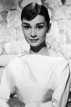 A look back at the best celebrity eyebrows: Audrey Hepburn
