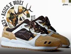 best service ba06e 9afaf Asics Gel Lyte III x Woei Zapatillas, Zapatos Deportivos, Vestuario De Los  Hombres,