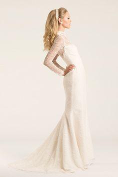 Amy Kuschel wedding dress