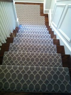Cost Of Carpet Runners For Stairs Rugs On Carpet, Stair Runner Carpet, Foyer Decorating, Carpet Colors, Bedroom Carpet Colors, Stanton Carpet, Diy Carpet, Carpet Stores, Doors And Floors