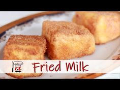 Leche Frita (Fried Milk) - the best Spanish Dessert Fried Milk Spanish Dessert (Leche frita) is one of the most popular recipes in Spain. Treat yourself with delicious and simple dessert recipe. Bakery Recipes, Milk Recipes, Mexican Food Recipes, Sweet Recipes, Snack Recipes, Dessert Recipes, Easy Recipes, Easy Spanish Desserts, Spanish Dishes
