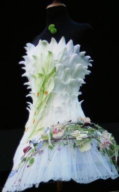 Most creative wedding dress ever!