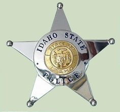 Idaho State Police Badge
