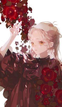 Cool Anime Girl, Beautiful Anime Girl, Anime Art Girl, Aesthetic Art, Aesthetic Anime, Character Drawing, Character Design, Anime Drawing Styles, Arte Obscura