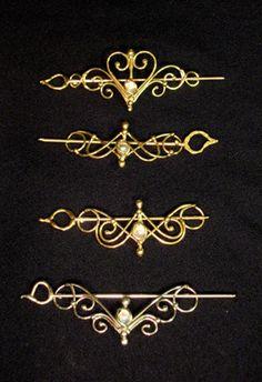 Jewelry idea: Hairpins (very elvish looking)