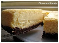 Nigella's Chocolate Lime Cheesecake - Citrus and Candy