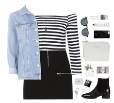 """""""Thought we were going strong."""" by bomlion ❤ liked on Polyvore featuring moda, Elizabeth and James, Topshop, Senso, Acne Studios, Native Union, Karen Kane, Oliver Peoples, Rodin y Paul Smith"""