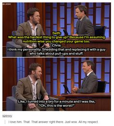 When he realized he was turning into something evil. | 21 Times Chris Pratt Was Too Good For This World #funnypics #funny #lol