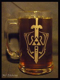 Legend of Zelda 15 ounce mug. $15.00, via Etsy.
