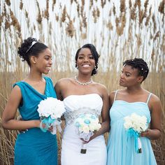 """When women come together with a collective intention, magic happens."" - Phylicia Rashad 🔹 whether together to support your friend on her wedding day, or together to stand up for what's right at the it's our combination of empathy & strength that makes ❤ Bridesmaids, Bridesmaid Dresses, Wedding Dresses, Phylicia Rashad, Dream Wedding, Wedding Day, Engagement Photography, Girl Power, Wedding Engagement"