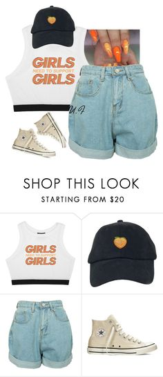 """""""Yung Bleu /// Tracey Song"""" by renipooh ❤ liked on Polyvore featuring Minga and Converse"""