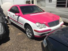 Pink Mercedes | Ugly Car Pictures: #mercedes #shittycarmod #pink