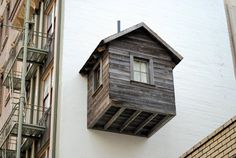 Manifest Destiny! Tiny Cabin Finds a Home Between San Francisco's Downtown Skyscrapers