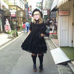 #oldschoollolita #kurololita #lolitafashion
