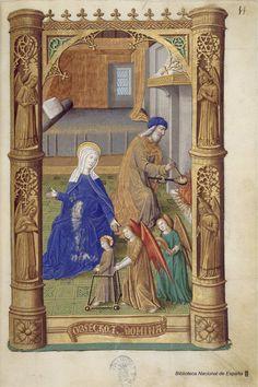 Libro de horas de Carlos VIII, Rey de Francia. Manuscrito — 1401-1500?