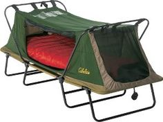 Great Outdoor bed with out pitching a full tent!