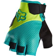 Fox Reflex Short Gel Womens Glove Flow Yellow (MTB16)