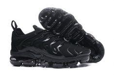 e5fba2da06f Nike VaporMax Plus Triple Black For Sale