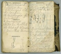 jasper n bertram's 1864 civil war diary