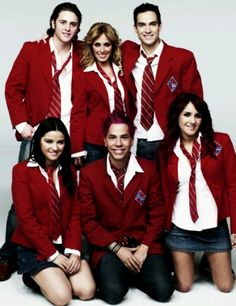 rbd <3 this was MY show back then . i miss those days . used to watch this every fckn day . i miss my childhood . . . :/ #foreverRBD