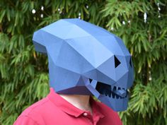 Rid the galaxy of those pesky space marines with our Alien Xenomorph mask! Makes a great mask for Halloween, costume parties, or just for fun! #Halloween #costume #Halloween_costume #mask #DIY_Halloween #DIY_Costume #DIY_Mask
