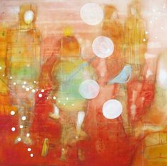 SÅPEBOBLER BY ANNE-BRITT KRISTIANSEN  #fineart #art #painting #kunst #maleri #bilde  www.annebrittkristiansen.com/anne-britt-kristiansen-kunst-2012