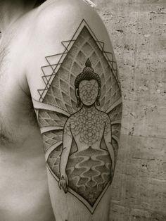 JONDIX MAHASHAKTI Barcelona,Spain/Traveling holytrauma.com Sleeve Tattoos For Women, Tattoos For Women Small, Tattoos For Guys, Psychedelic Tattoos, Buddha Tattoos, Unique Tattoo Designs, Top Tattoos, Female Tattoos, Tatoos