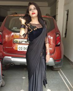 Fancy Sarees Party Wear, Saree Designs Party Wear, Fancy Blouse Designs, Stylish Dress Designs, Designer Party Wear Dresses, Indian Designer Outfits, Saree Blouse Patterns, Saree Blouse Designs, Sarees For Girls