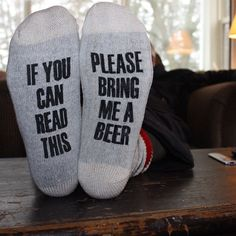 Wool socks for hardworking beer drinkers Father's Day Gift