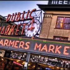 Seattle, Wa.....what a great city.  Love, loved the Farmers Market...just like on the movies where they throw the fish.