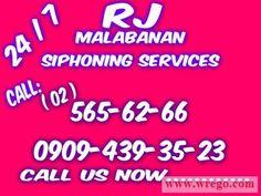 RJ MALABANAN SIPHONING SEPTIC TANK SERVICES 565-62-66 / 0909-4393