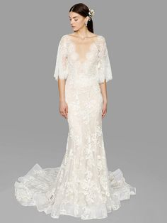 The Marchesa show is always one of opulent fantasy and this season was no exception. The Marchesa Fall 2017 Wedding Dresses are complete with stunning