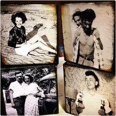 Vintage Photo Canvas