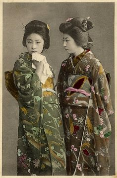 Vintage Japanese Card (approximately 1914)