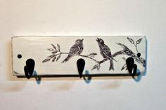 Wall mount bird key rack @charityhawks5