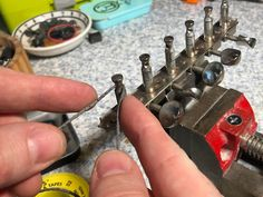 Guitar strings breaking at the tuner end? Here's how to fix it. High E, Round Off, Better Books, Screw It, Diy Workshop, To Manifest, Law And Order, Guitar Strings, Mess Up