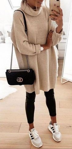 Cute casual winter fashion outfits for women fashion outfits, fall fashion .Cute casual winter fashion outfits for women fashion outfits, fall fashion stylish sweater outfits for the cold winter - stylish Winter Outfits For Teen Girls, Casual Winter Outfits, Winter Fashion Outfits, Chic Outfits, Spring Outfits, Trendy Outfits, Autumn Fashion, Work Outfits, Girly Outfits