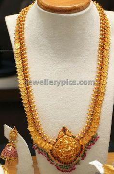 Lakshmi Kasu Haram Wedding jewellery 2014 designs - Latest Jewellery Designs