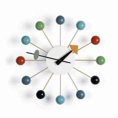 Orologi moderni da parete - Ball Clock di Vitra