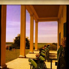 Mt. Vernon-loved sitting on the porch and rocking the day away!  It is amazing to know you are in the spot where our nation's founders have stood.