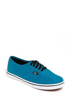 Vans 'Authentic - Lo Pro' Sneaker (Women) available at The color is awesome  and would actually match more than you would think. Canvas, no rubber toe.