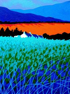 West Cork Landscape - acrylic by ©John Nolan (via FineArtAmerica)